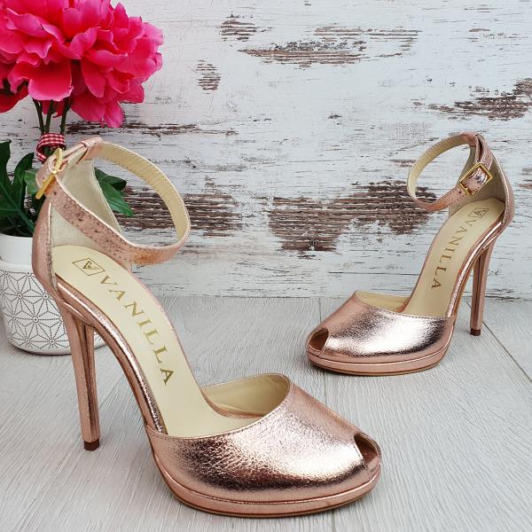 Sandale Beijing Sampanie Sifonata Promo 0