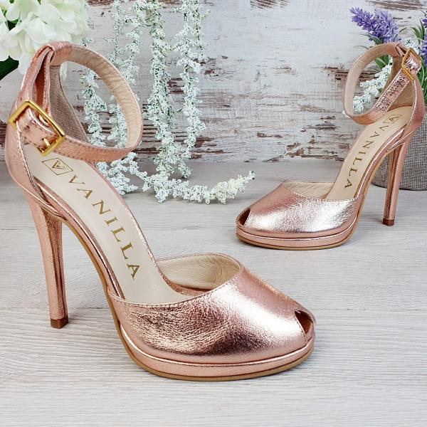 Sandale Beijing Sampanie Sifonata Promo 2