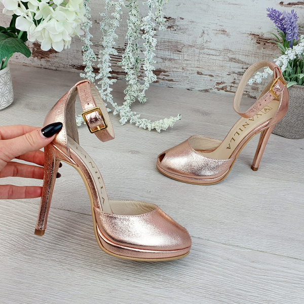 Sandale Beijing Sampanie Sifonata Promo 1