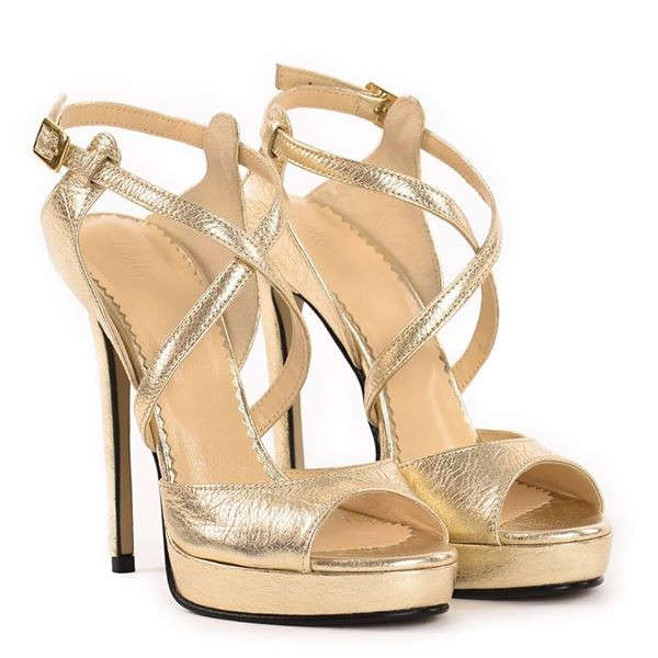 Sandale Berna Gold 0