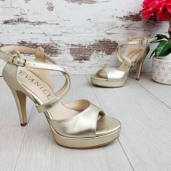 Sandale Berna Gold Promo 0