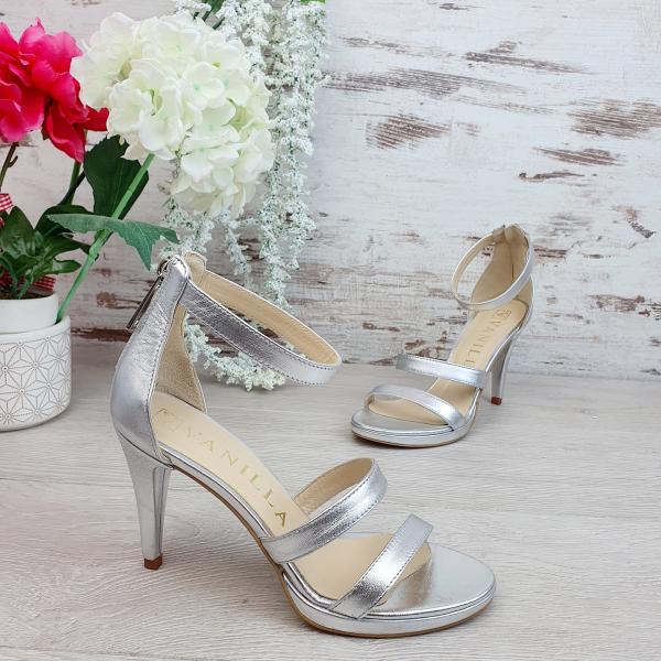 Sandale Cairo Argintiu Promo 0