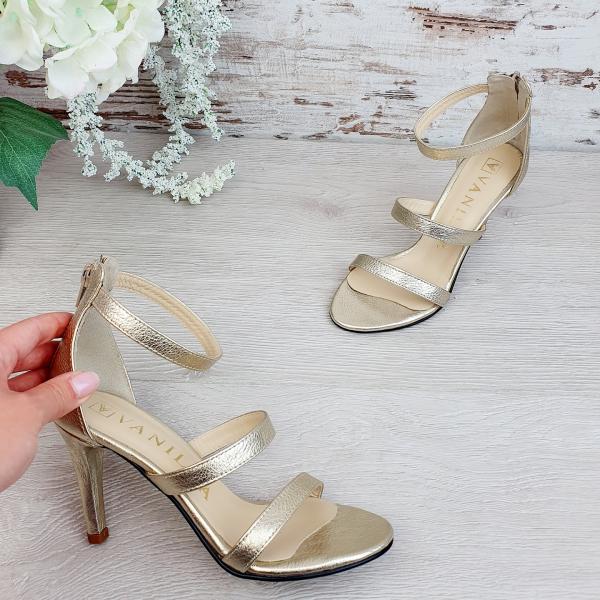 Sandale Cairo Auriu Promo 0