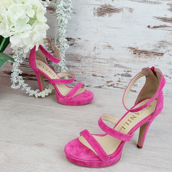 Sandale Cairo Piele Intoarsa Promo 0