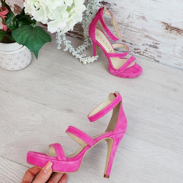 Sandale Cairo Piele Intoarsa Promo 1