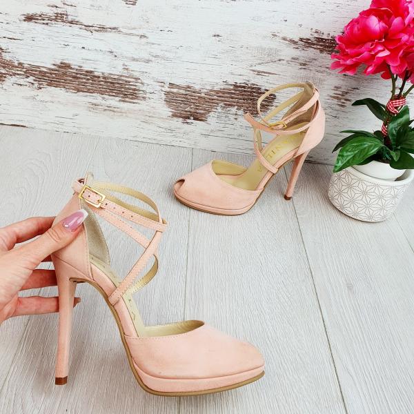 Sandale Fabiana Piele Intoarsa Promo 0