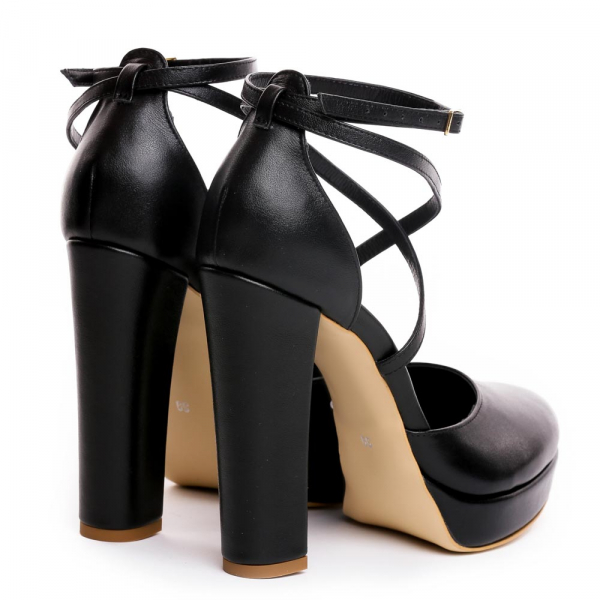 Sandale Mali Piele Neteda 1