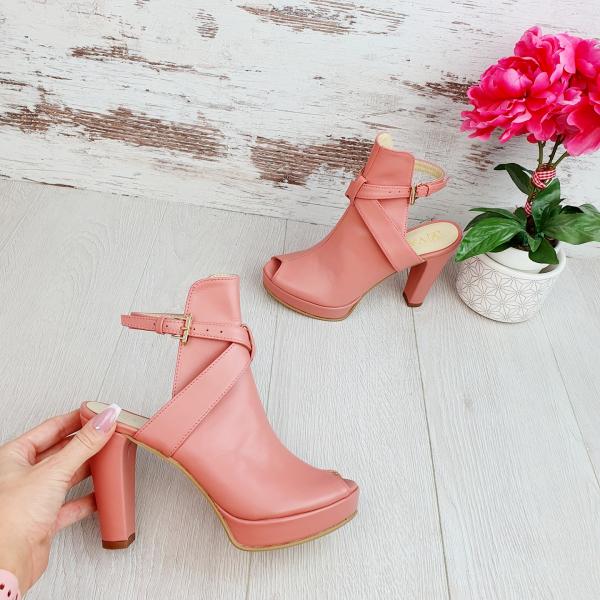 Sandale Pago Piele Neteda Promo 0