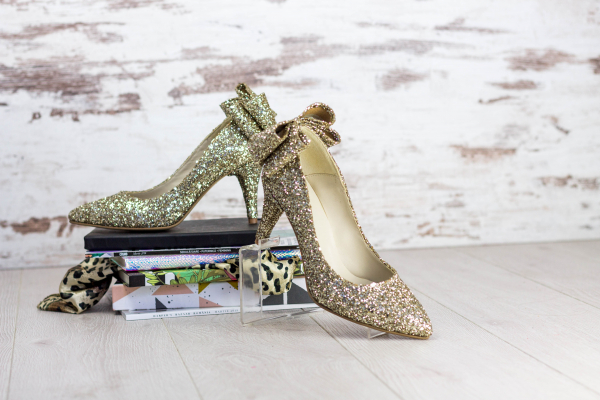 Stiletto Cleopatra Glitter 0