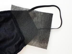 Masca Fashion din Piele, cu filtru, Model KN93