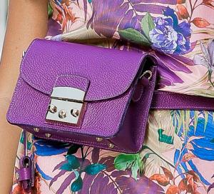Borseta Lisa Purple0