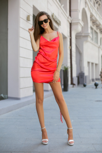Rochie Penelope Red0