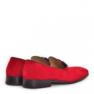 Pantofi Namir Loafers - Red2