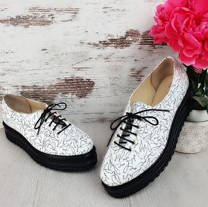 Pantofi casual Hellena Love Edition0