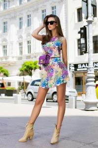 Rochie Tasha Purple1