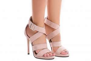Sandale Andra din piele intoarsa0