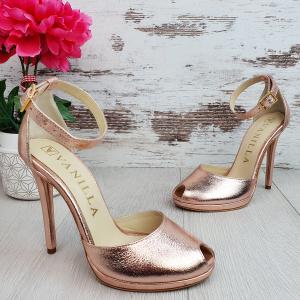 Sandale Beijing Sampanie Sifonata Promo0