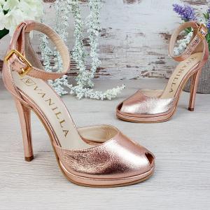 Sandale Beijing Sampanie Sifonata Promo2