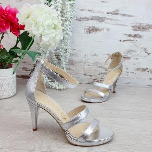 Sandale Cairo Argintiu Promo0