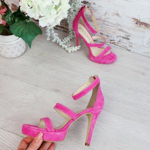 Sandale Cairo Piele Intoarsa Promo1