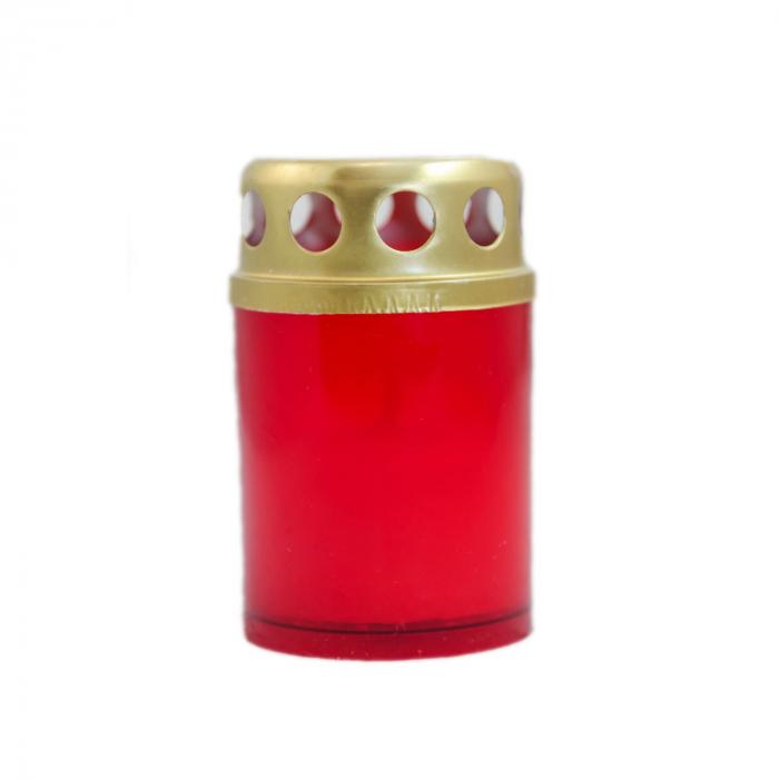 Candela din plastic cu capac,12ore [0]