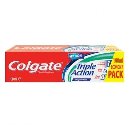 Colgate pasta de dinti Triple Action, 100 ml [0]