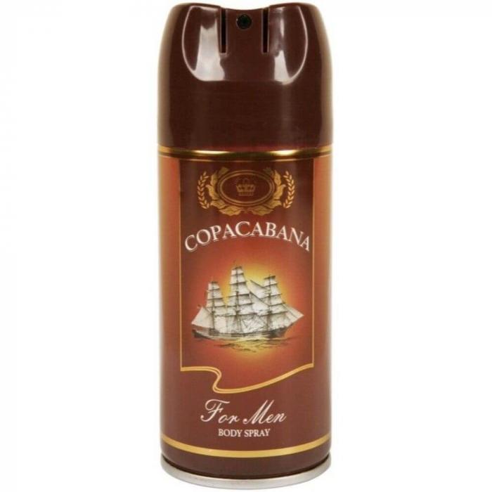 Deodorant Spray MEN JEAN MARC Copacabana, 150 ml [0]