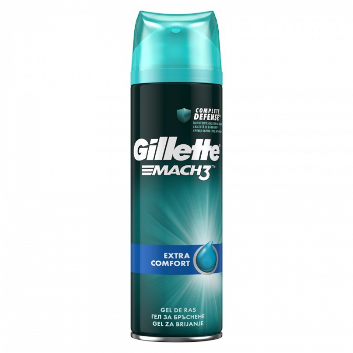 Gel de ras Gillette Mach3 Extra Comfort, 200ml [0]
