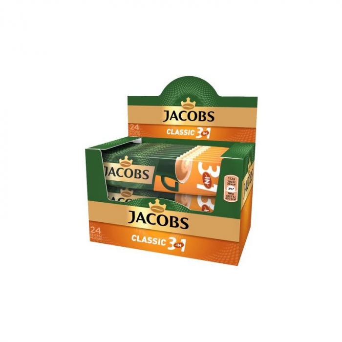 Jacobs 3in1 Classic, 24 plicuri /cutie [0]