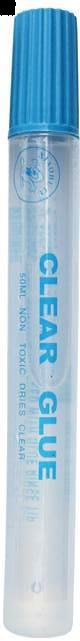 Lipici lichid Brand Clear Glue, 50 ml [0]