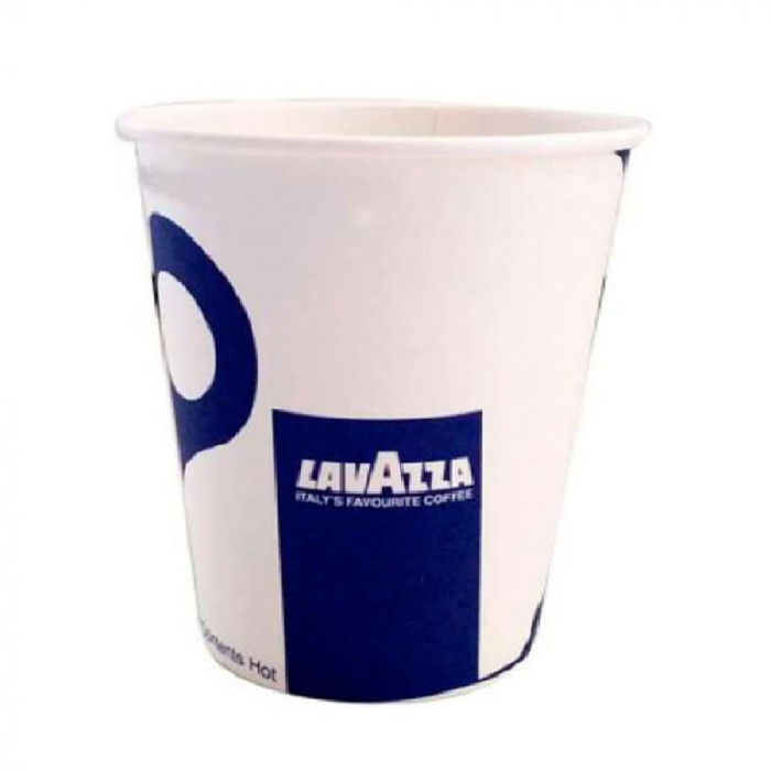 Pahare Cafea din Carton 7 Oz Model Lavazza (200 ml), 100 Buc/SET [0]