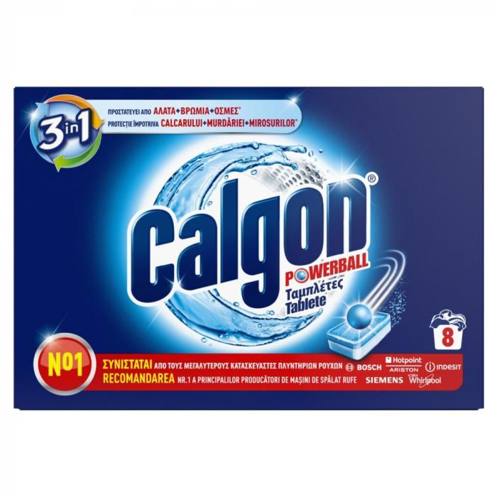 Tablete anticalcar 3in1 Calgon ,cutie cu 8 bucati [0]