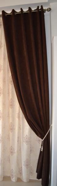 Draperie Velaria culoare wenge 2