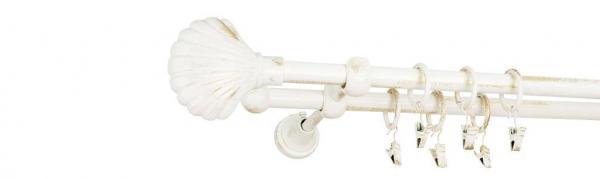 Galerie dubla culoare alb lucios patina fi16 9