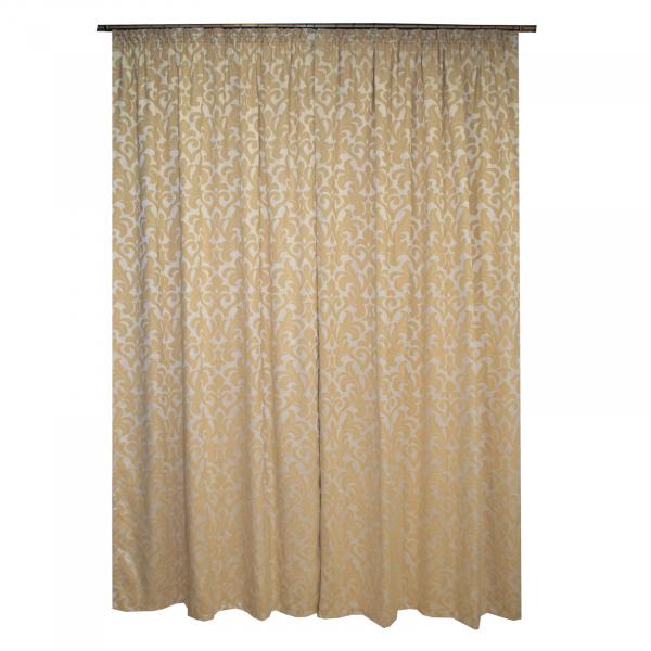 Set draperii Sama bej, 2x135x245 cm [3]