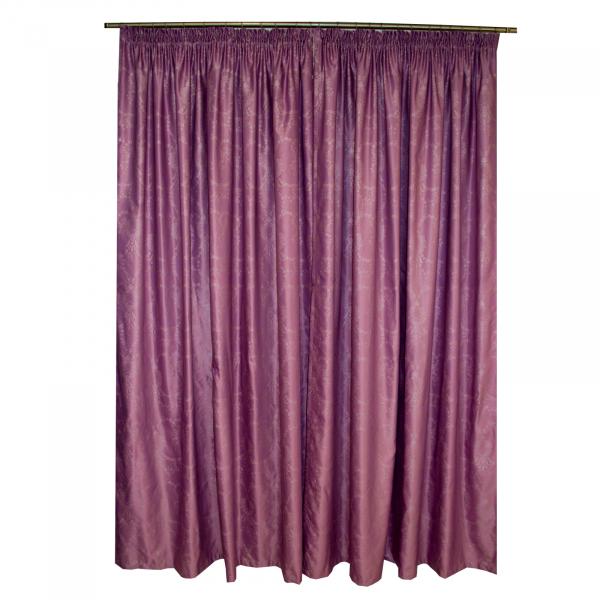 Set draperii Tafta mov, 2x185x245 cm 1