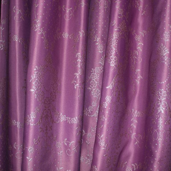 Set draperii Tafta mov, 2x185x245 cm 2