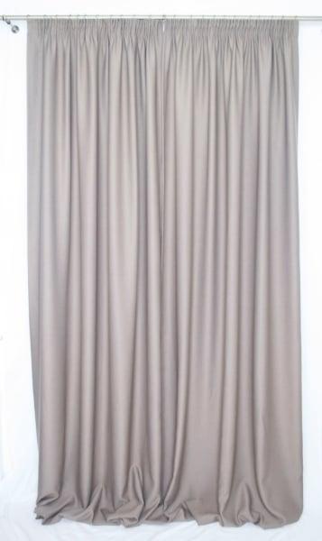 Draperie Velaria Alexander culoare nuca 300cm latime 1