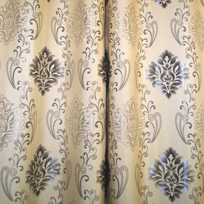 Set Draperie velaria in baroc gri 130 x 260 x 2 1