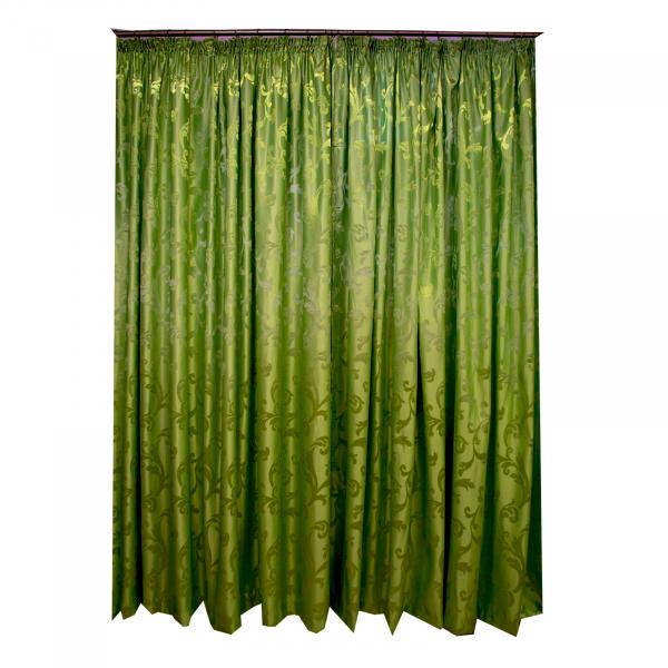 Draperie  jacard just verde 525x245 cm 0