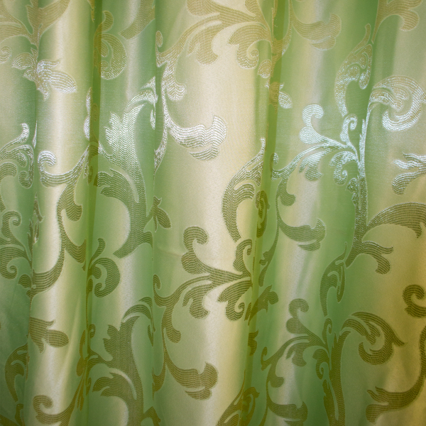 Draperie  jacard just verde 525x245 cm 2