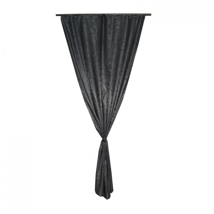 Draperie Velaria jacard linii gri, 125x245 cm 3