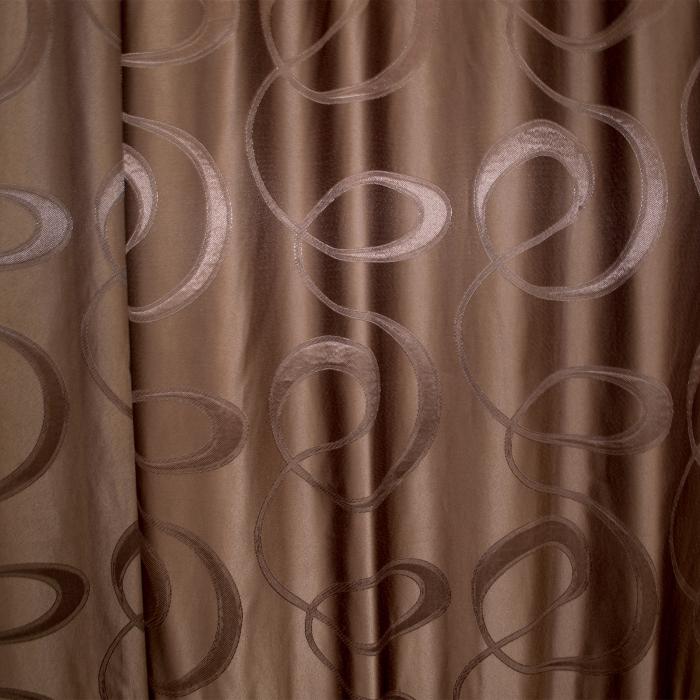 Draperie Velaria jacard wenge, 150x245 cm 1