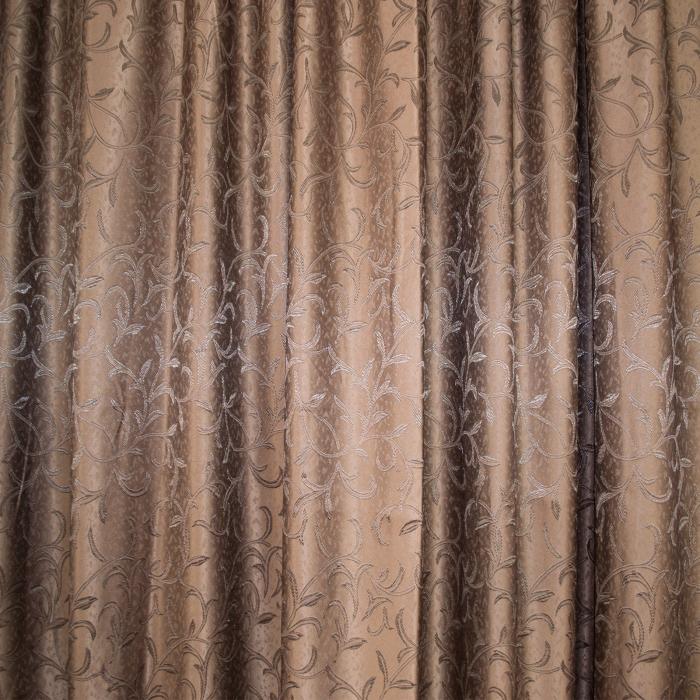 Set draperii Velaria jacard wenge, 2*190x245 cm 2
