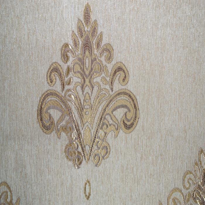Draperie Velaria tafta baroc auriu, 150x250 cm 3