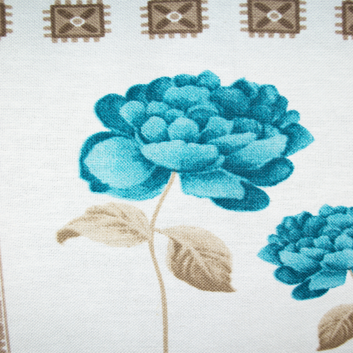 Draperie Velaria teflonata trandafiri albastri 1