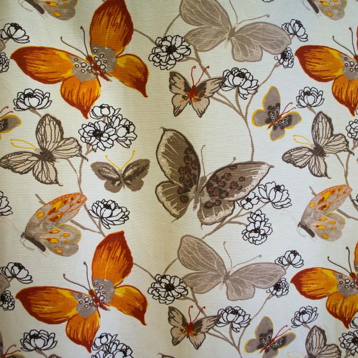 Draperie Velaria teflonata fluturi, diverse culori 0