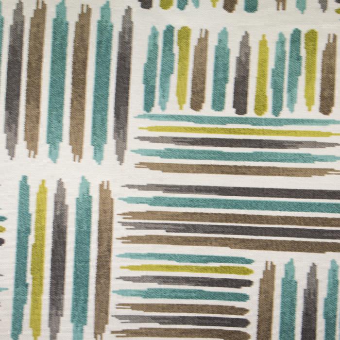 Draperie Velaria teflonata cu dungi asimetrice, diverse culori 1