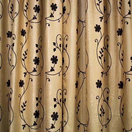 Set draperii Velaria floricica wenge 1