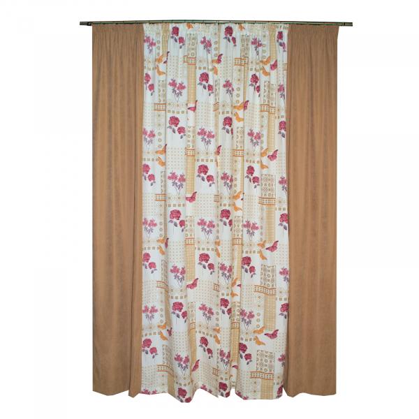 Set draperii Velaria fori grena, 2x135x260 cm 1